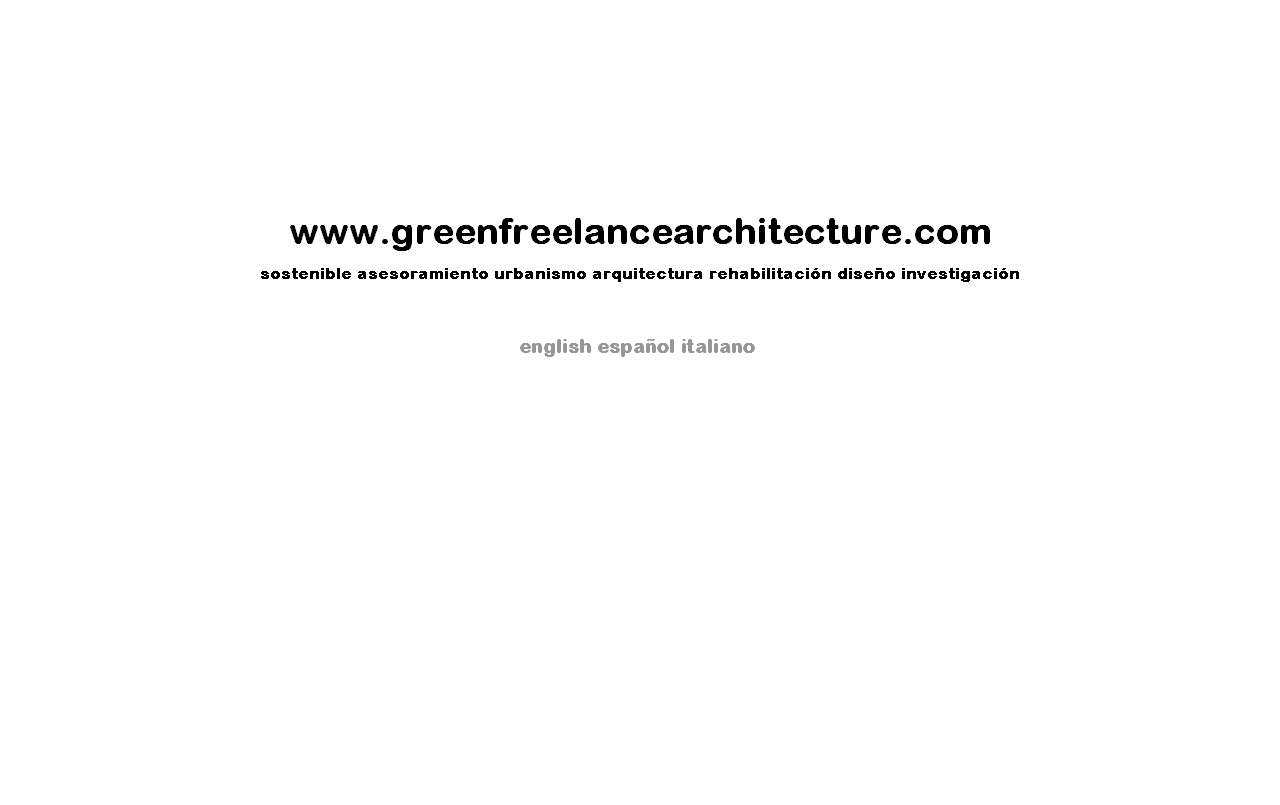 Green Freelance Architecture